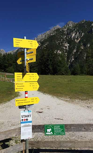 Wandelen in Schlick Stubai - Travelvibe
