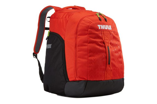 Thule RoundTrip Boot Backpack Ski boot bag Red - Travelvibe