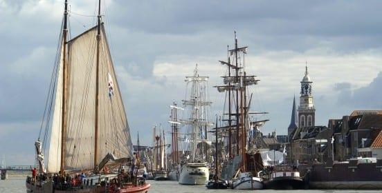 Varen op een schip in kampen - Travelvibe
