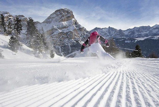 skien in Zuid-Tirol