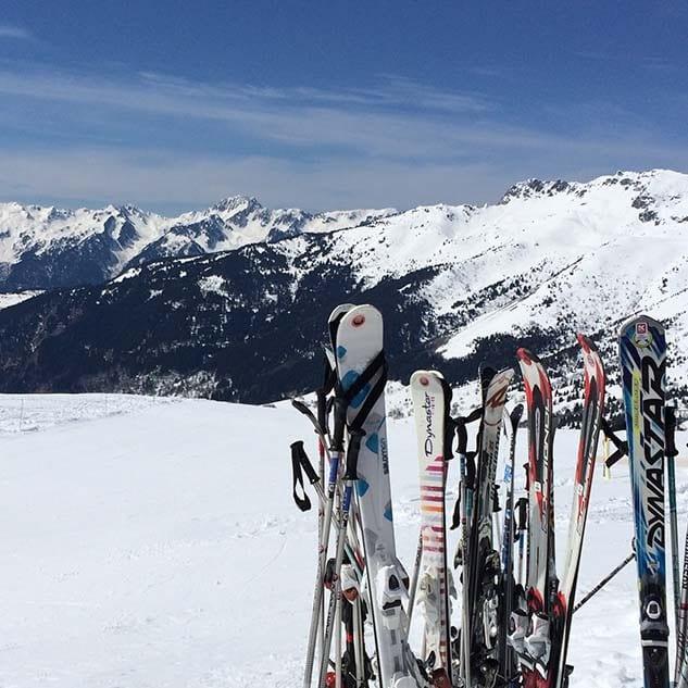 ski's Dag van de bergen - Travelvibe