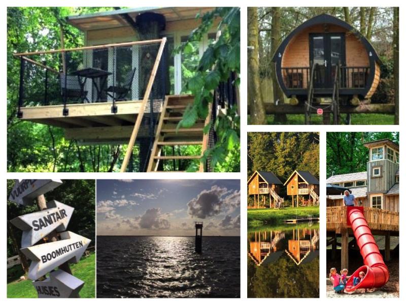 slapen in een boomhut Nederland | Travelvibe