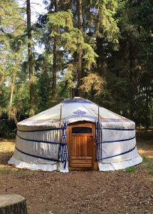 Slapen in een Mongoolse tent in Nederland?