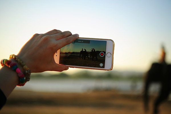 Smartphone filmtips voor op reis - Travelvibe