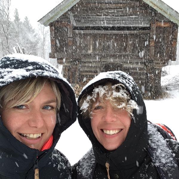 Reistips en reisverhalen binnen Europa - Sneeuw in april in Noorwegen