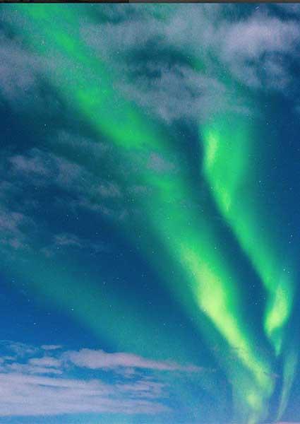 Noorderlicht Spotten IJsland Sorelle
