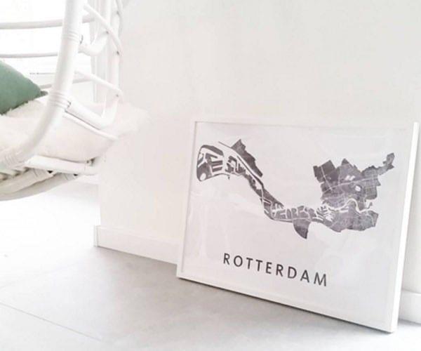 stadsplattegrond Rotterdam - Travelvibe