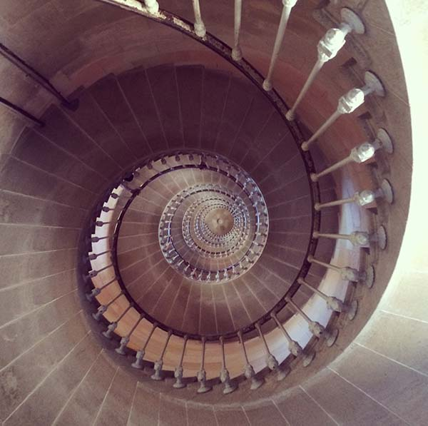 stairs lighthouse Ile de Re