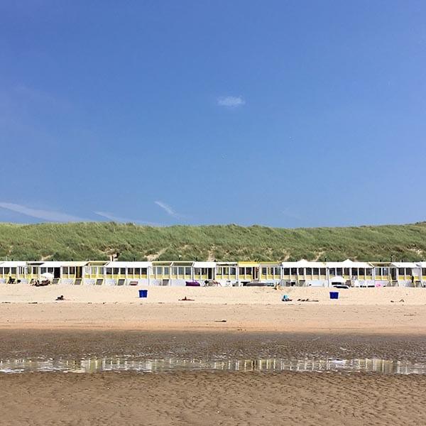 strandhuisjes Castricum