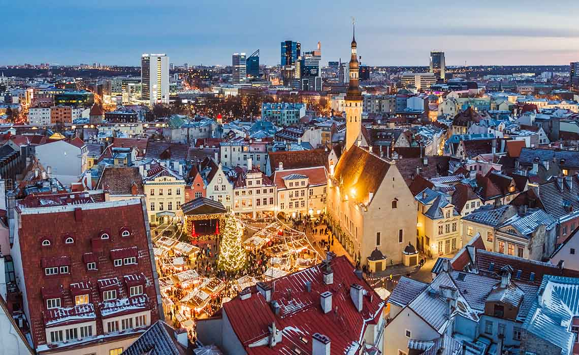 Kerst in Tallinn Estland - Travelvibe
