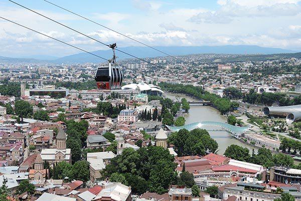 Tbilisi Georgie Wie is de Mol - Travelvibe