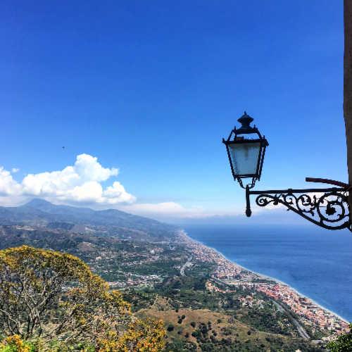 uitzicht dorpen Sicilie