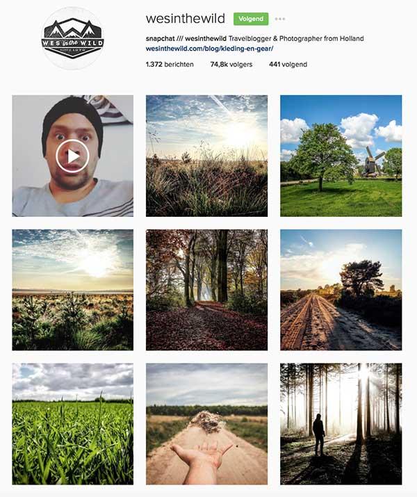 Wesinthewild op Instagram - Travelvibe