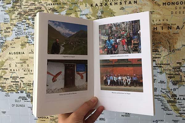 het reisboek van Ap Dijksterhuis - wie (niet) reist is gek - Travelvibe