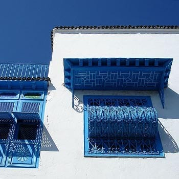 Blue monday travel hotspot Sidi Bou Said - Travelvibe