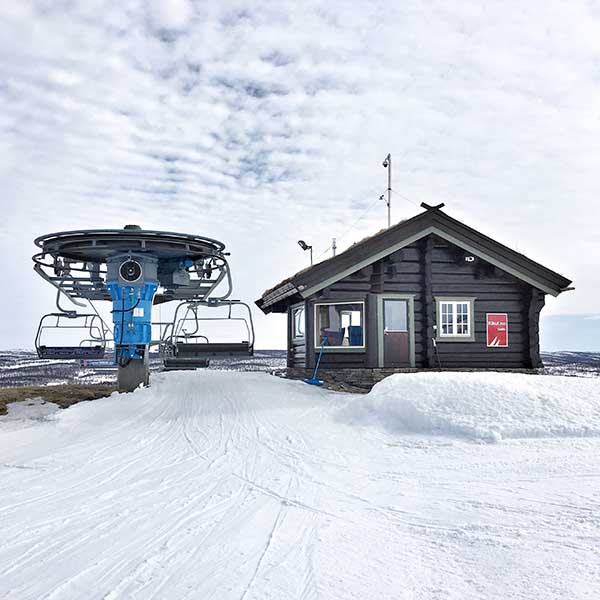 Wintersport Geilo Noorwegen, Kikut