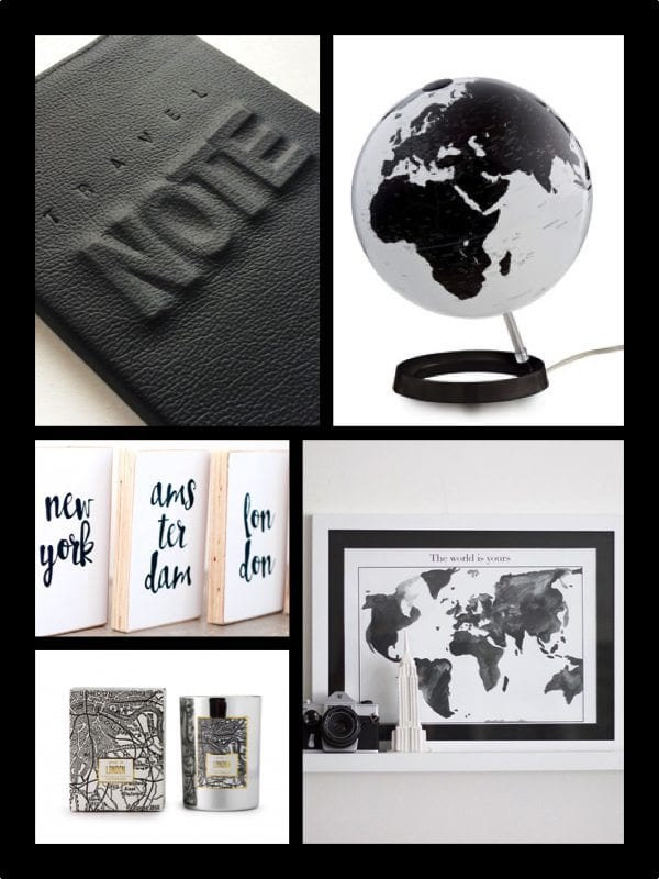zwart-wit travelgadgets - travelvibe